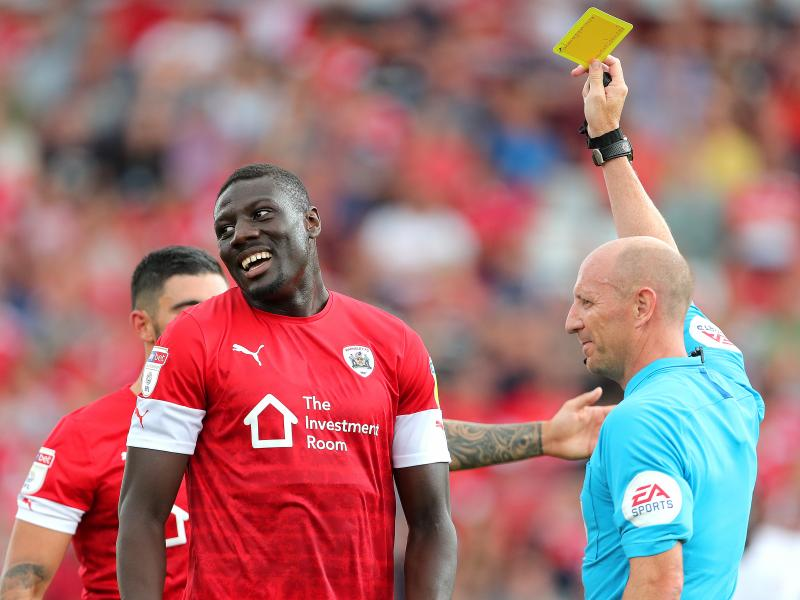 Barnsley defender Bambo Diaby fails drugs test