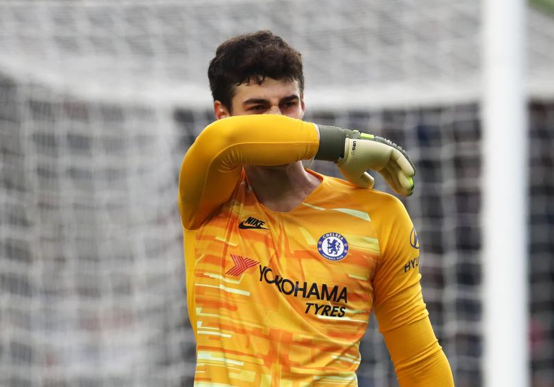 Frank Lampard fires a warning to Kepa Arrizabalaga over poor form