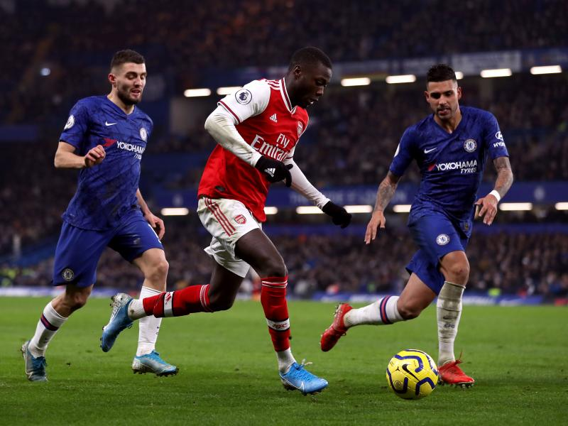 Martin Keown criticizes Nicolas Pepe after Chelsea draw
