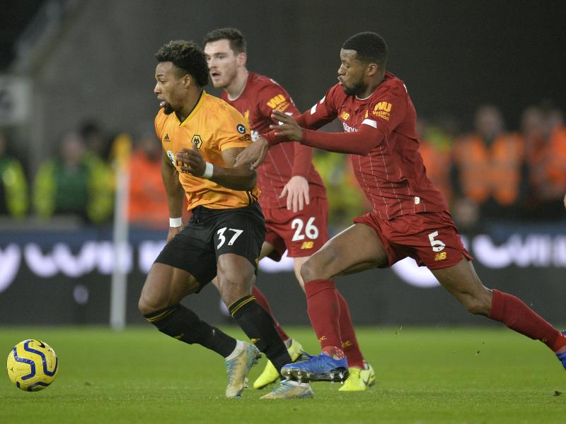 Jurgen Klopp heaps praise on Adama Traore after beating Wolverhampton Wanderers