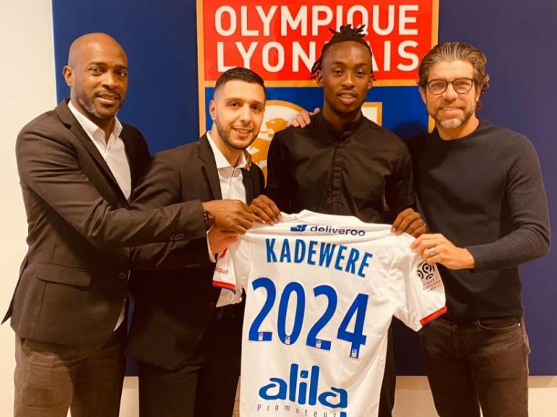 🇿🇼🔥 Official: French giants Lyon unveil Kadewere