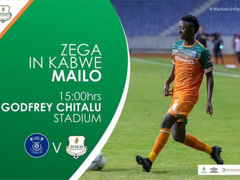 🇿🇲 Top spot chasing Zesco United face tricky Kabwe Warriors
