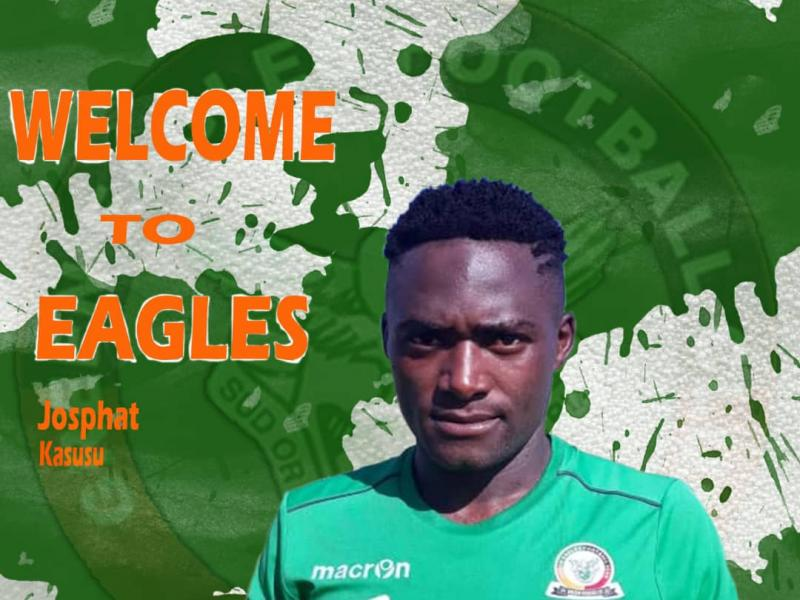 🇿🇲 Kasusu joins Green Eagles on loan