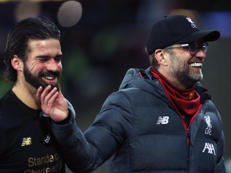Liverpool's Alisson credits Klopp for a successful 'exhausting' league campaign