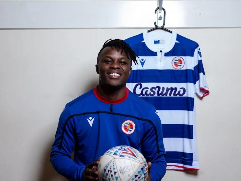 Ayub Timbe jersey number at Reading revealed