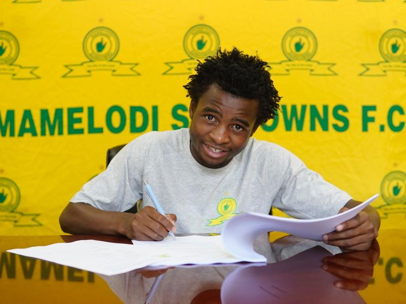 👆🏾🦁⭐️ Sundowns' new young star Mkhuma described as a rare and smart breed