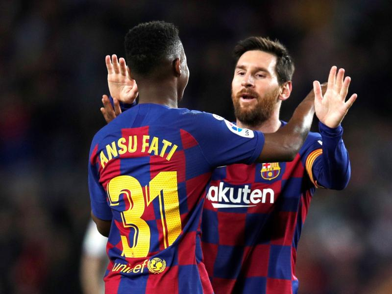 🏟 Barcelona vs Getafe: Ansu Fati starts for Barça, three African stars feature for third-placed visitors