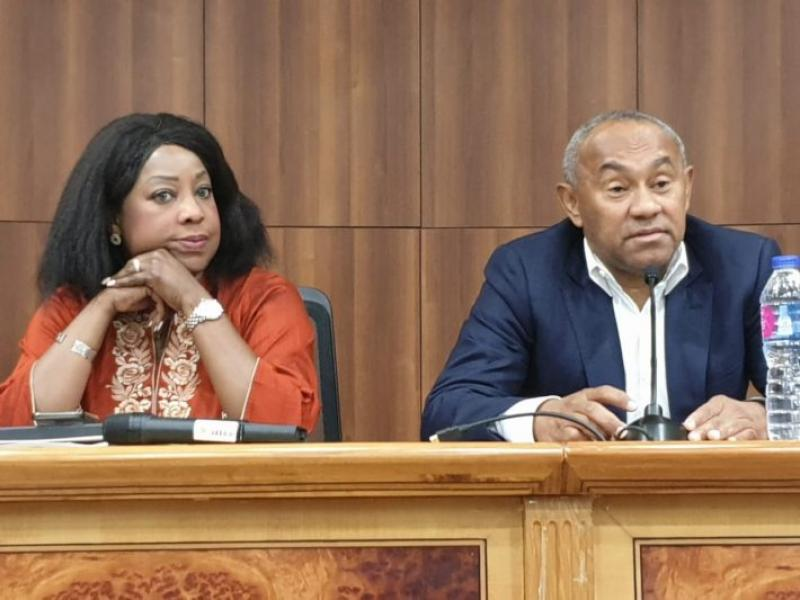 Fifa to continue with Caf financial audit as Fatma Samoura ends Cairo mission