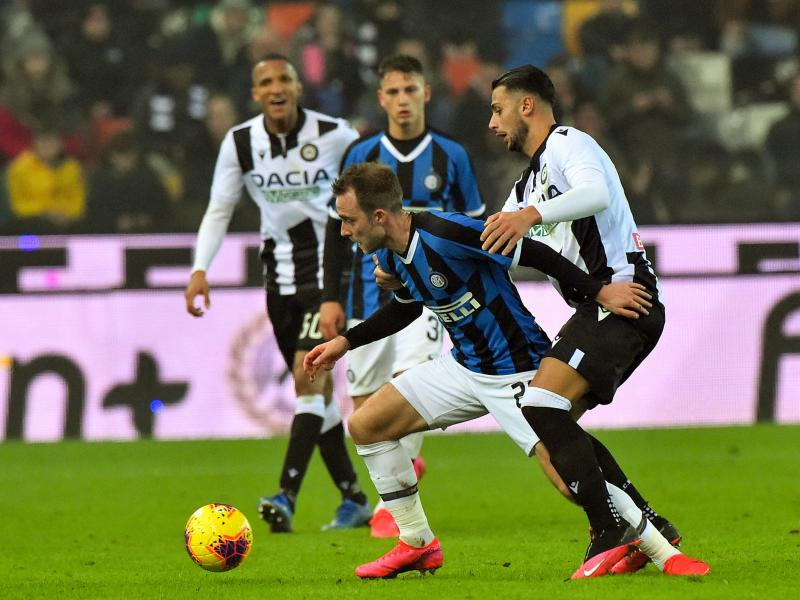 Christian Eriksen slammed after Inter's loss to Juventus