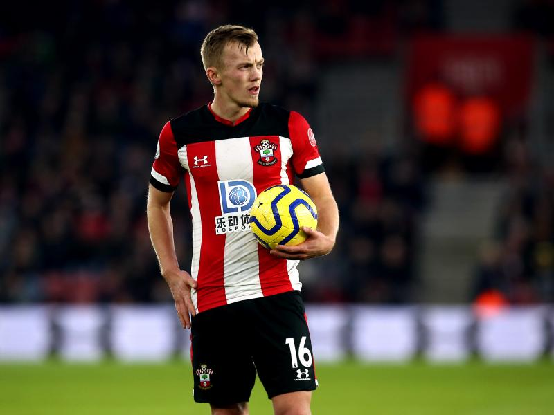 Injury update provided on Southampton's James Ward-Prowse