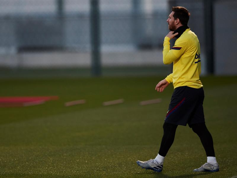 TEAM NEWS: Griezmann, Messi to lead Barcelona's attack against Napoli