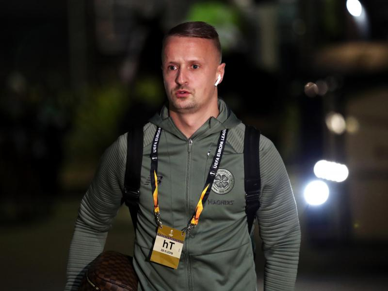 Massive blow for Celtic as striker Leigh Griffiths picks up injury