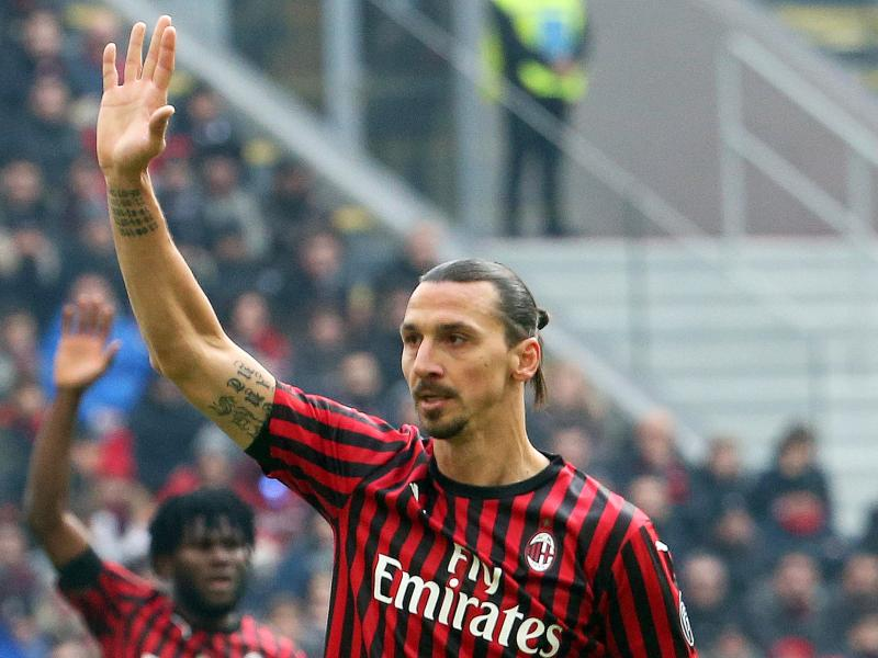 AC Milan deny report of a career-ending injury on Zlatan Ibrahimovic