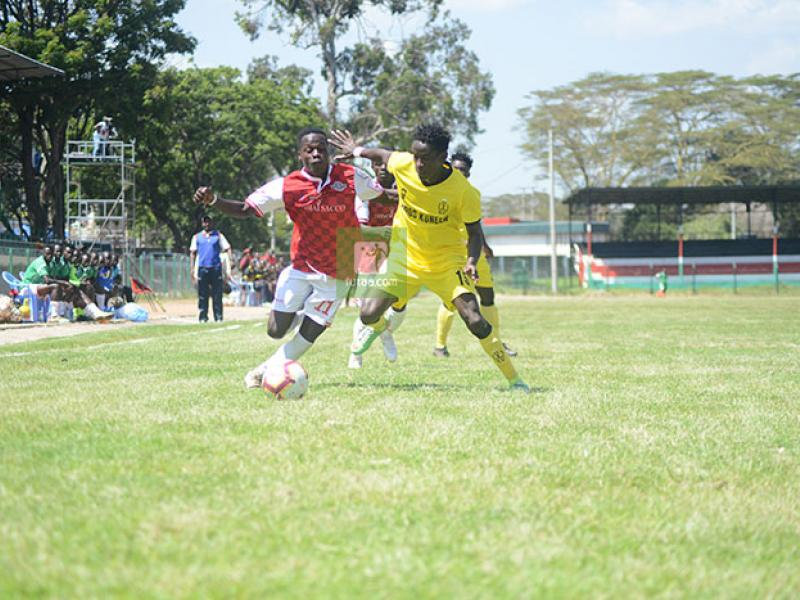 Wazito FC share spoils with Ulinzi Stars at Kenyatta Stadium