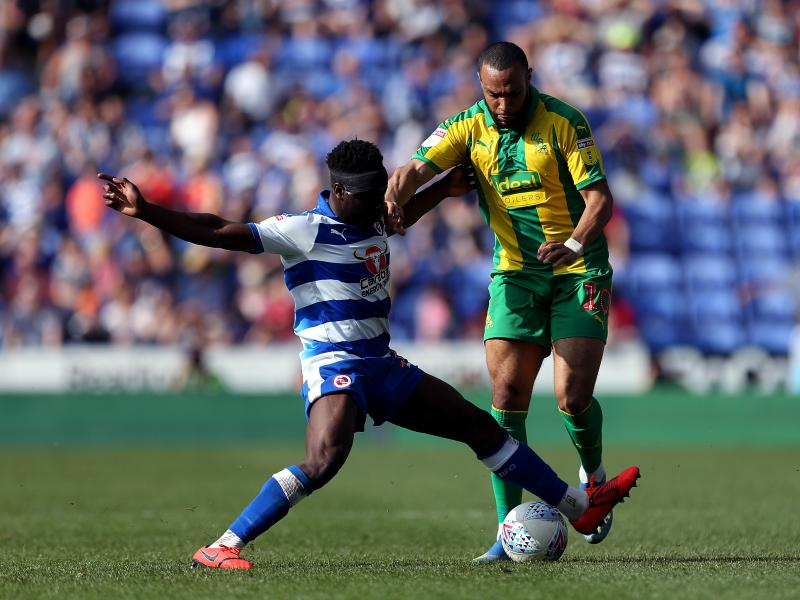 Andy Yiadom keen to return to action for Reading following knee injury