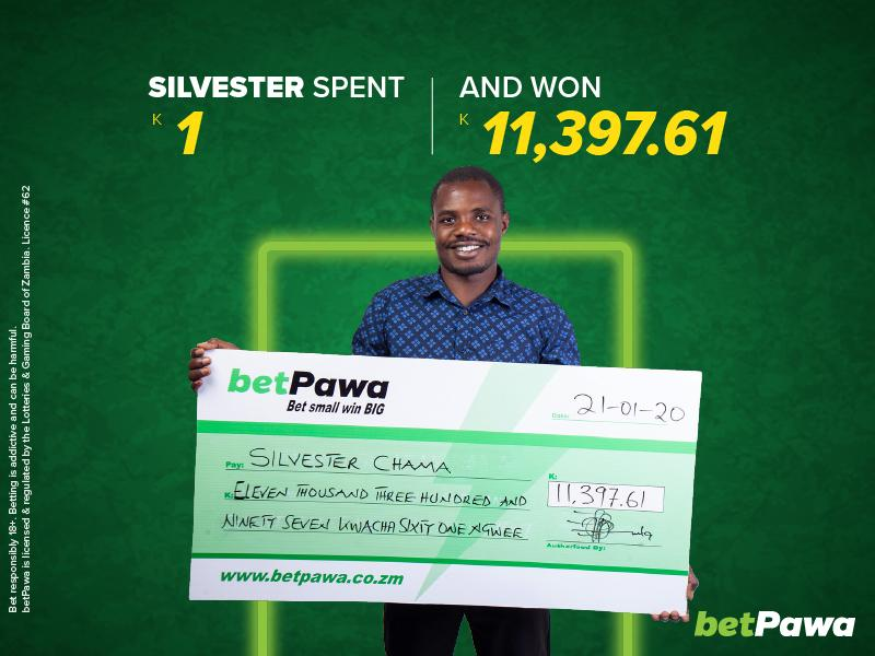 "Silvester's January ""made simple"" by K11,397.61 win with betPawa"