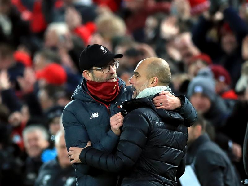 Jurgen Klopp's reaction following Manchester City's UEFA ban