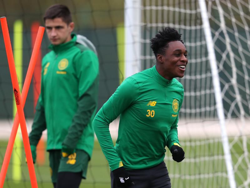Jeremie Frimpong makes injury return for Celtic following lengthy injury spell