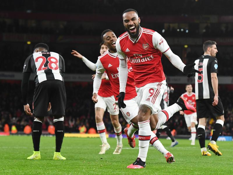 Roy Keane slams Arsenal celebrations after Lacazette's goal