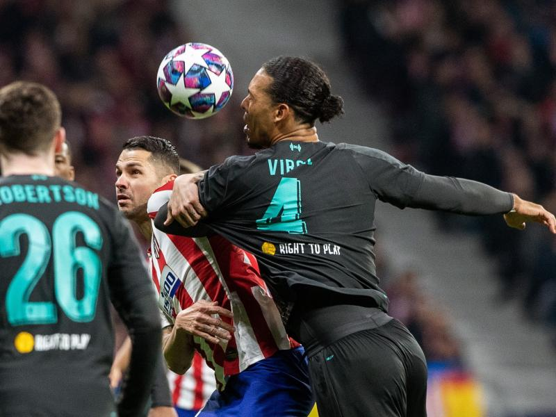 Van Dijk left frustrated after Champions League loss