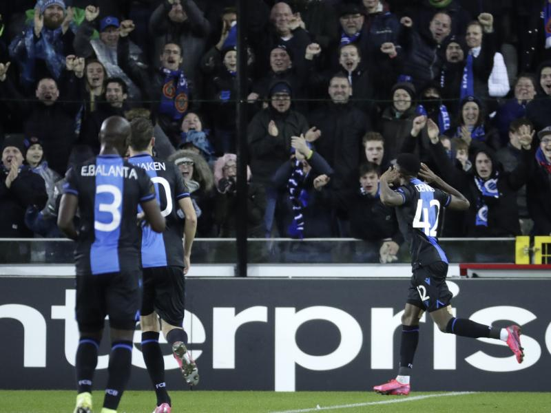 Club Brugge 1-1 Man United: Solskjaer's men battle to take slight advantage back to Old Trafford