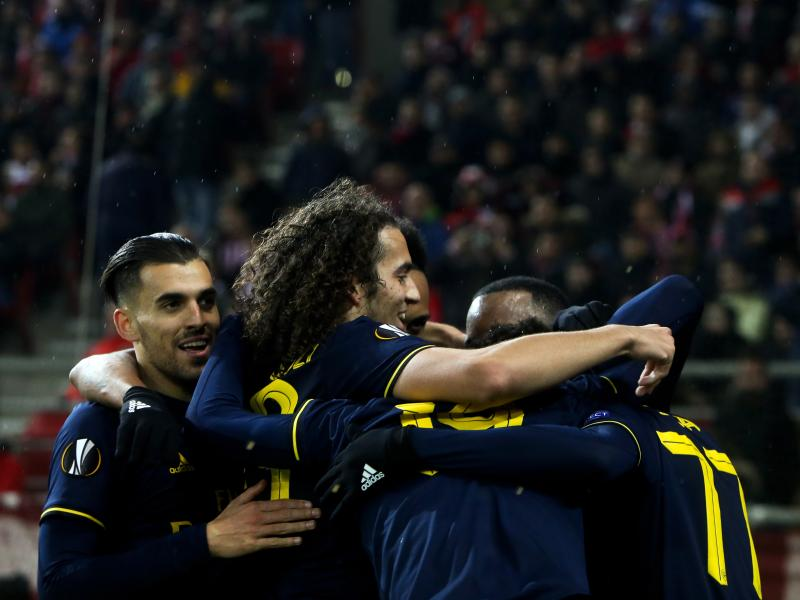 Olympiacos 0-1 Arsenal: Lacazette hands the Gunners important first-leg away win