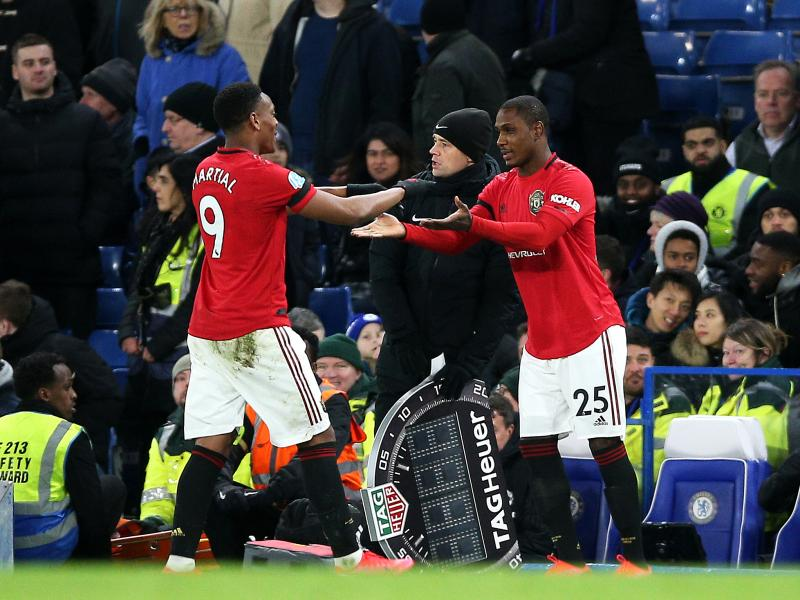 Odion Ighalo ready to partner Anthony Martial in Manchester United's attack