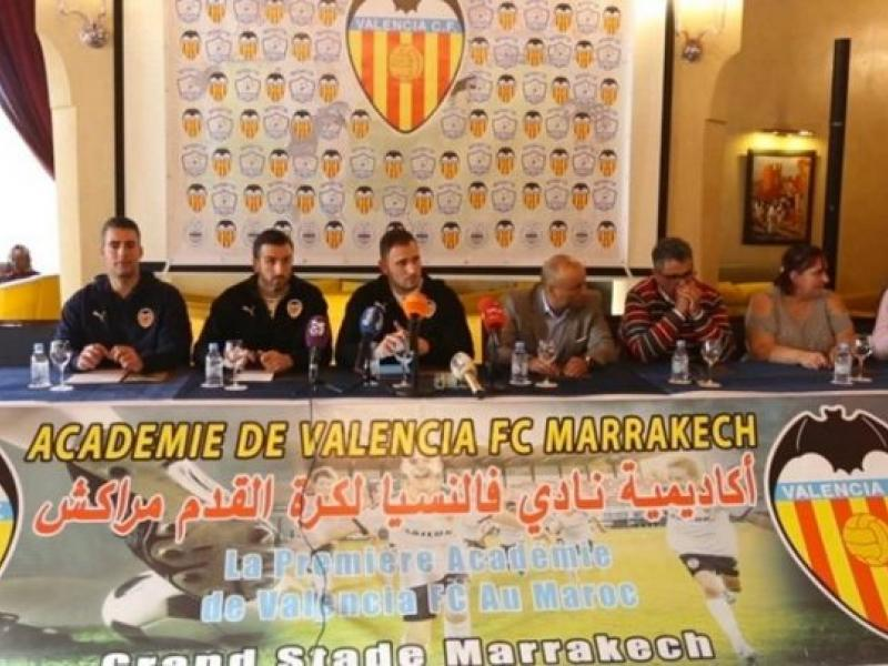 Spanish side Valencia opens academy in Morocco