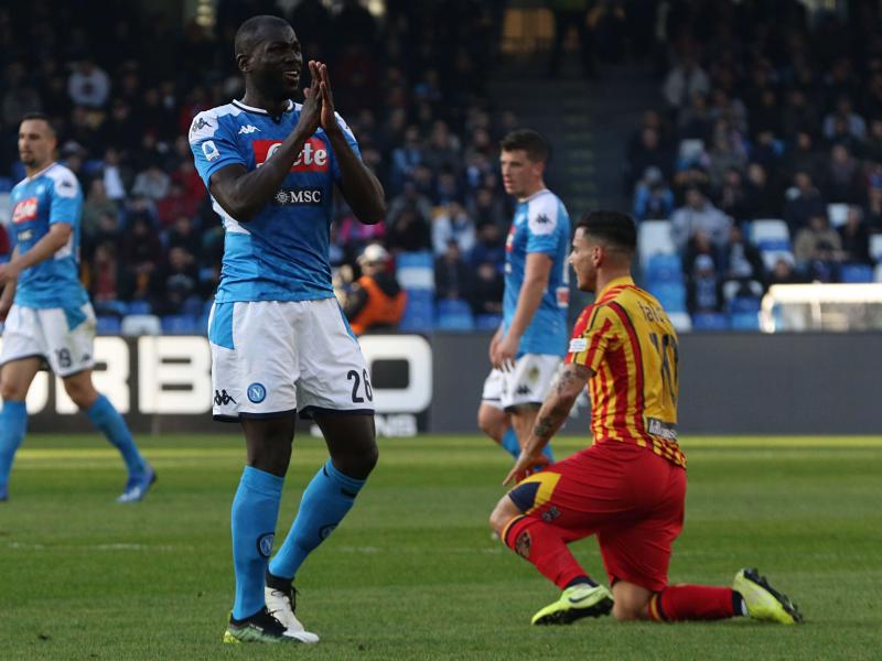 Napoli defender Kalidou Koulibaly ruled out of Barcelona clash