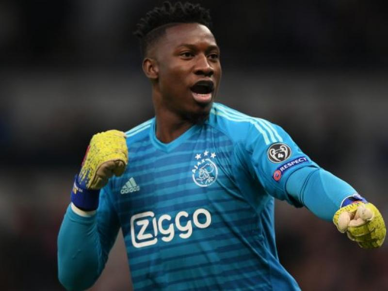 Andre Onana gifts adoring Ghanaian prisoner with a pair of gloves and signed jersey