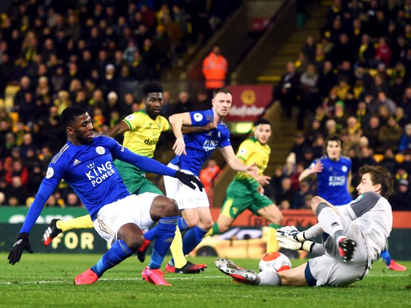 Norwich City 1-0 Leicester City: Lewis strike boosts Norwich survival hopes