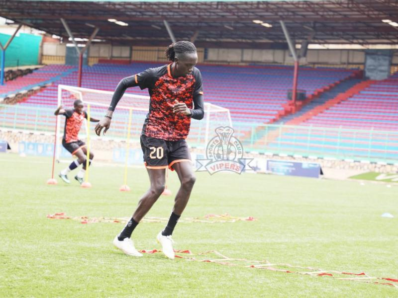 🇺🇬 🏥 Injury boost for Vipers as Okello resumes training ahead of Wakiso test