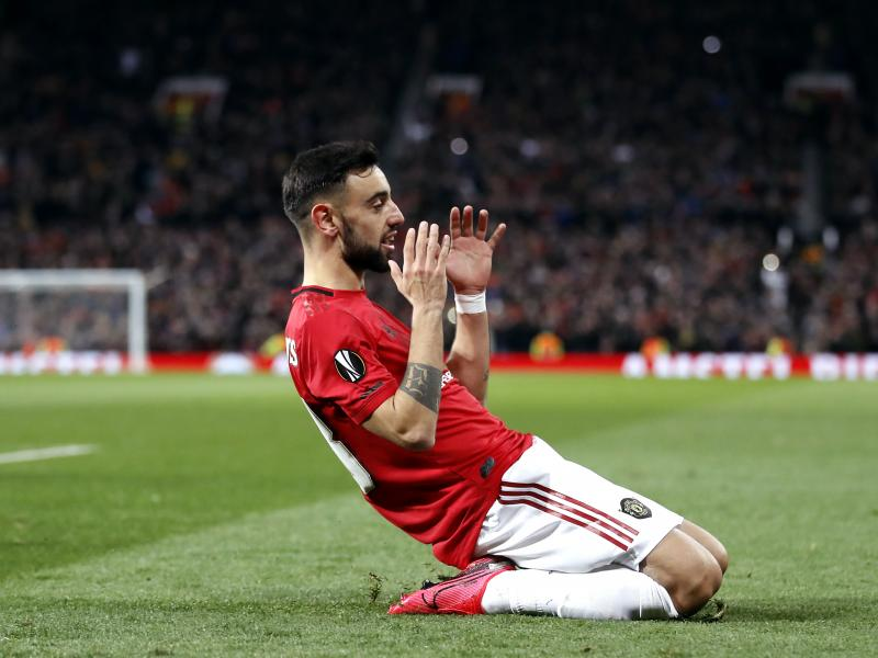 Bruno Fernandes among Player of the Month nominees for February