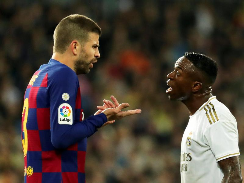 Pique tears on Madrid's first half performance despite loss