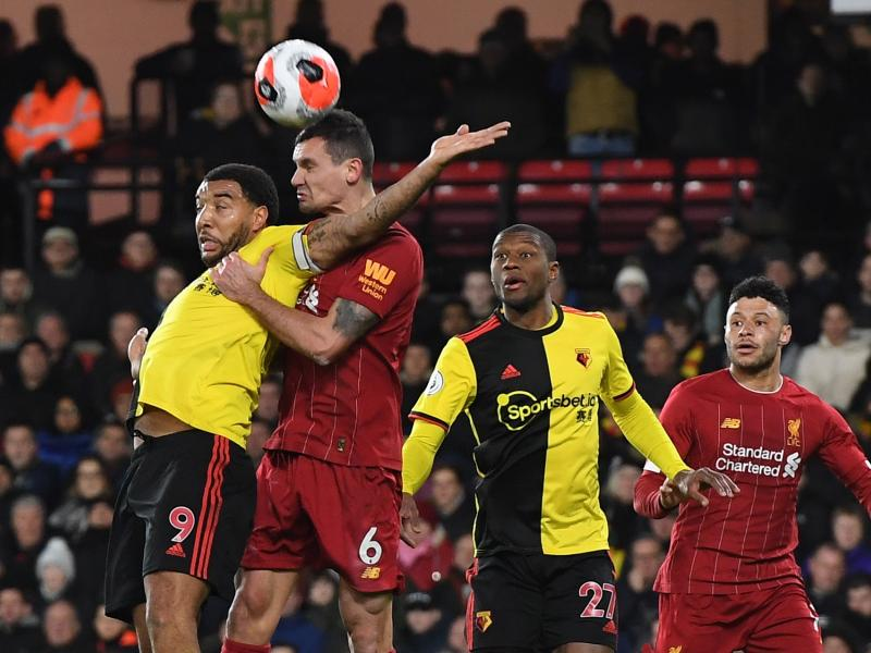 Klopp defends Dejan Lovren despite horror show in Watford defeat