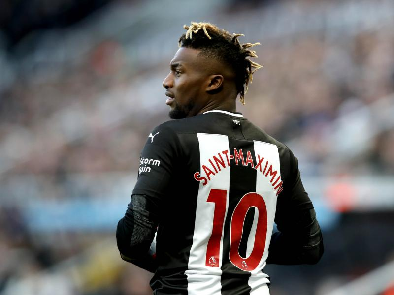 Allan Saint-Maximin ruled out ahead of FA Cup clash against West Brom