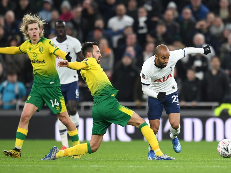 FA CUP: Norwich City dump out Tottenham on penalties, set quarter final date with either Manchester United or Derby