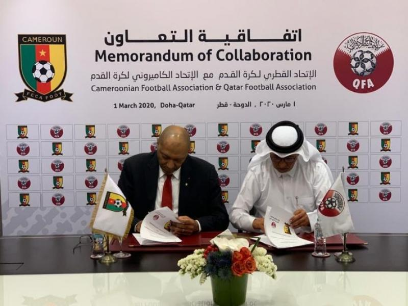 🇨🇲 💼 🇶🇦 Qatar inks technical support deal with Cameroon FA