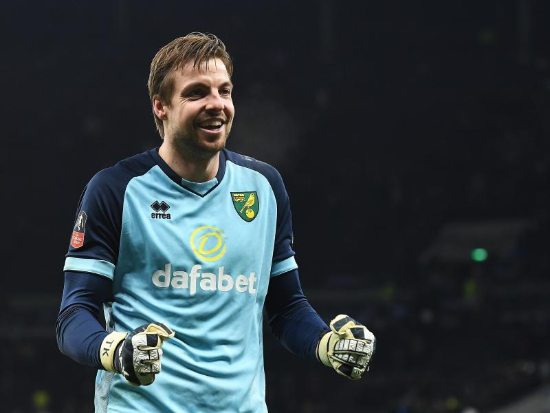 How Norwich goalkeeper Tim Krul managed to save Spurs' penalties