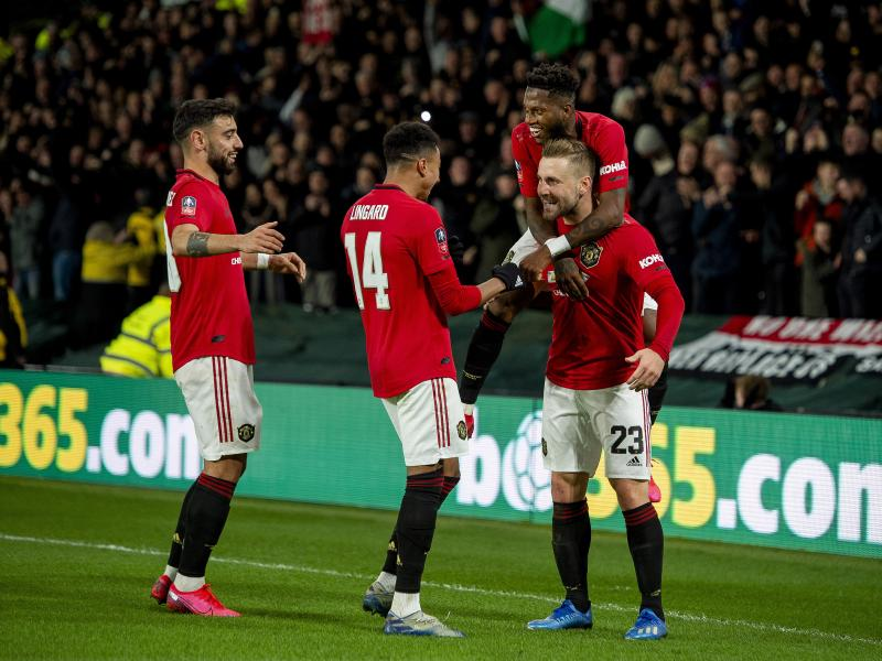Derby 0-3 Man United: Red Devils book quarterfinals date with Norwich after routine win in Derbyshire