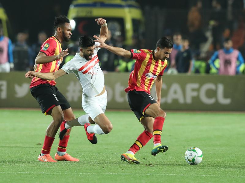 It is a North African affair in the CAF Champions League semis