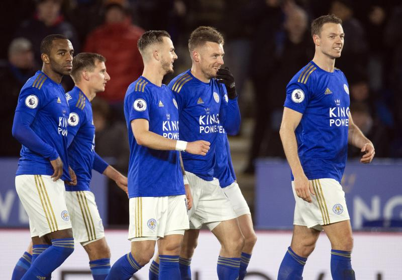 Leicester 4-0 Aston Villa: Vardy comes off the bench to score brace and lead Foxes to important win