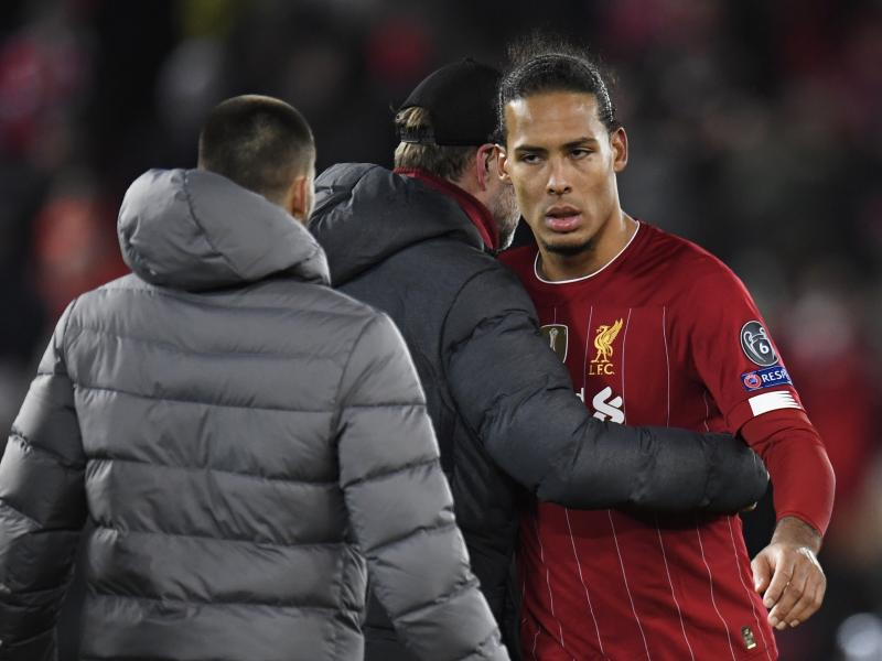 Van Dijk admits 'it'll be difficult' for Liverpool after they were dumped out of Champions League