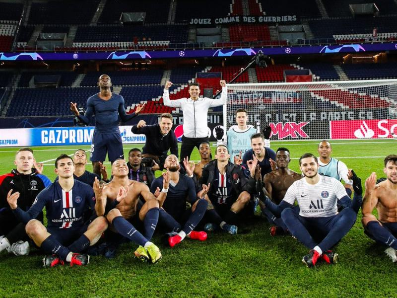 WATCH: PSG players troll Haaland after dumping Dortmund out of Champions League