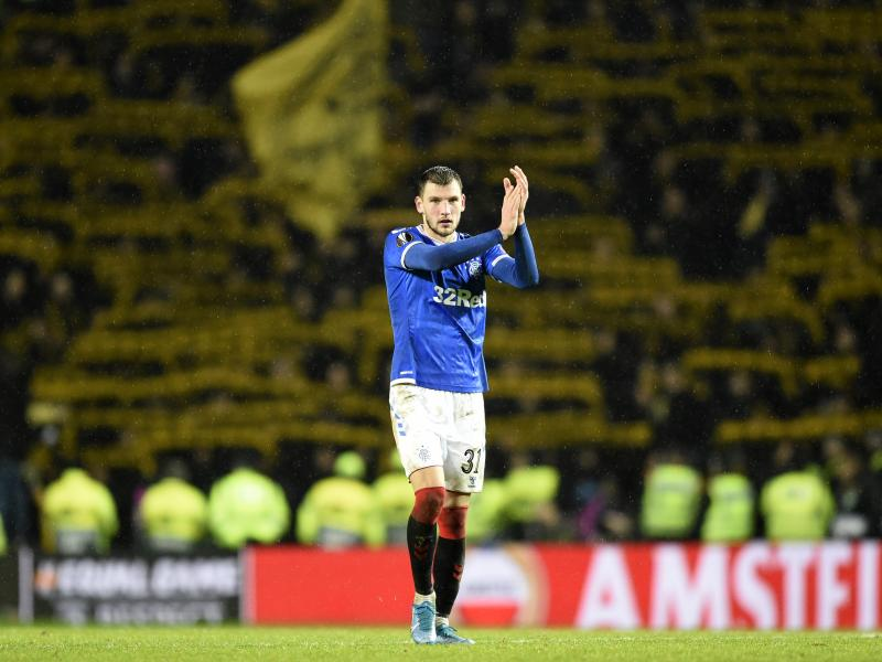 Napoli register their interest in Rangers defender Borna Barisic