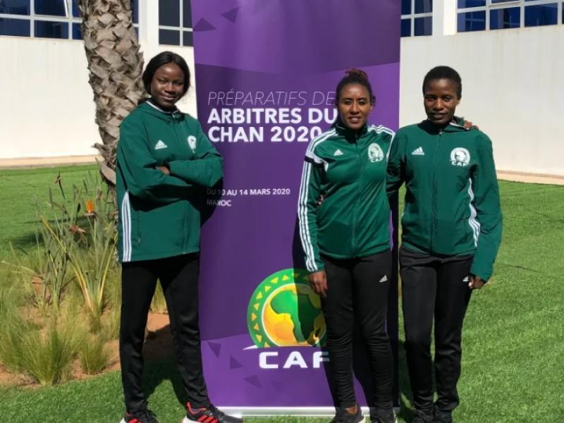 Meet the female referees who had been selected for CHAN 2020