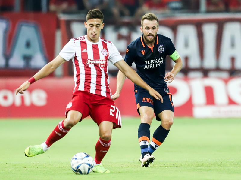 Olympiacos defender Kosta Tsimikas could be Ben Chilwell's replacement