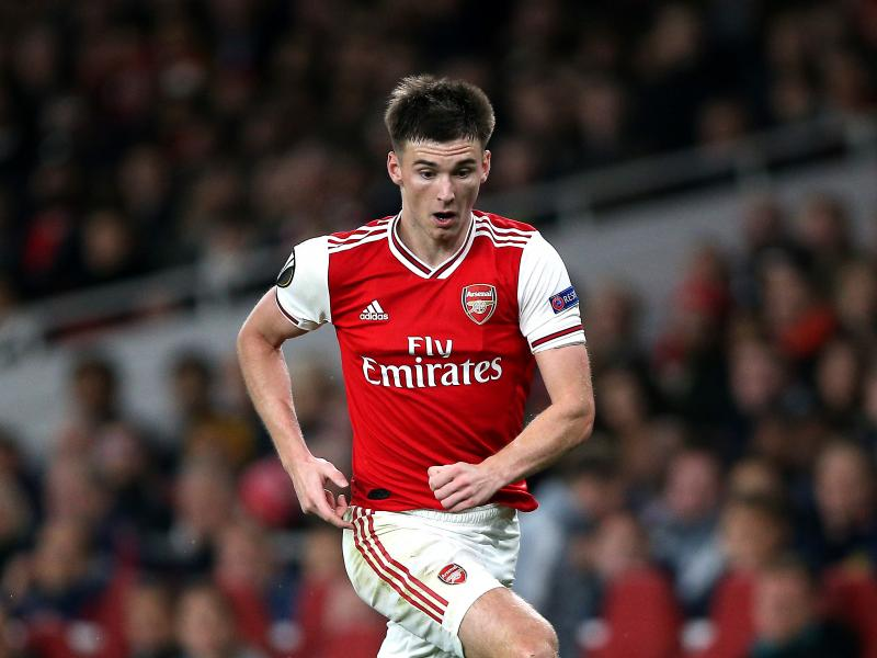 Arsenal duo Kieran Tierney and Lacazette resumes full training
