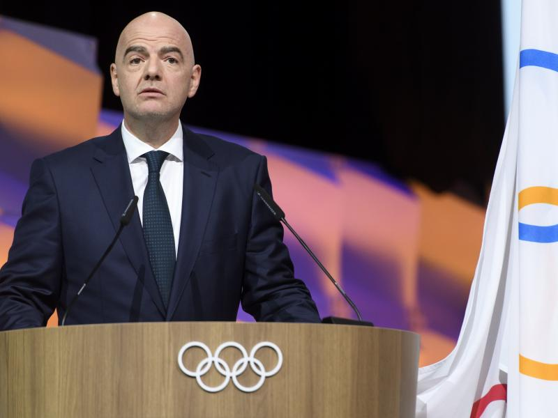 🚨 BREAKING: FIFA president Gianni Infantino tests positive for COVID