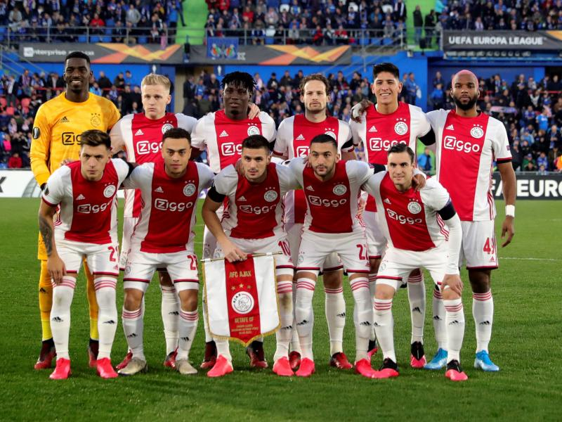 Ajax fined over crowd trouble in Europa League clash against Getafe